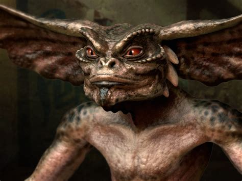 The Gremlins eeuwenoud kapelletje vol met gremlins en aliens want