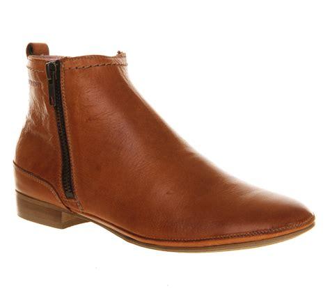 cognac leather boots womens ten points toulouse zip boot cognac leather boots