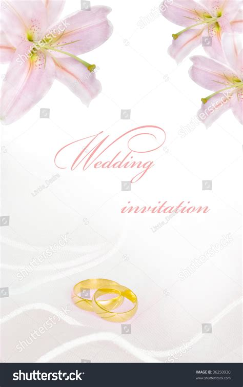 blank greeting card and wedding invitations wedding invitation or greeting card blank with