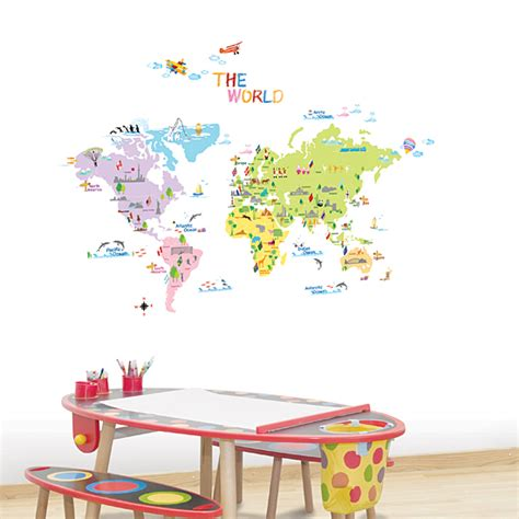 world map wall stickers look up the world map wall stickers for on the