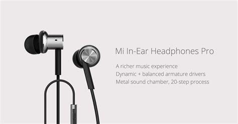 Original Mi In Ear Headphone Pro mi in ear headphones pro mi malaysia