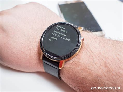 android wear review android wear 1 4 review marshmallow brings more features with less android central
