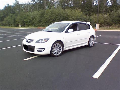 white mazda 3 2008 mazda 3 2008 white