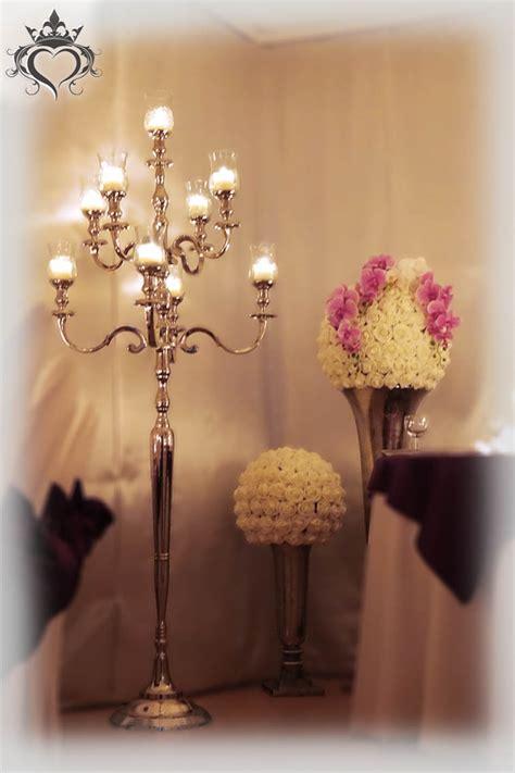 tischdeko mit kerzenleuchter kerzenst 228 nder - Kerzenleuchter Groß Silber
