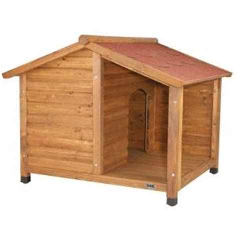 home depot dog houses trixie rustic large dog house 39512 the home depot