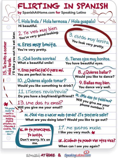 learn spanish in a flirting in spanish 18 easy spanish phrases for dating spanish phrases spanish and easy
