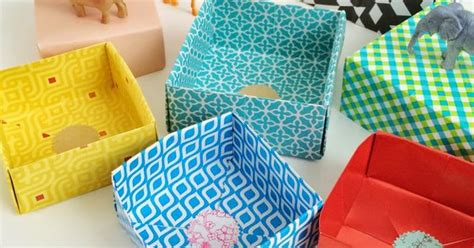 Origami Cupcake Box - diy cupcake holders more diy origami origami boxes and