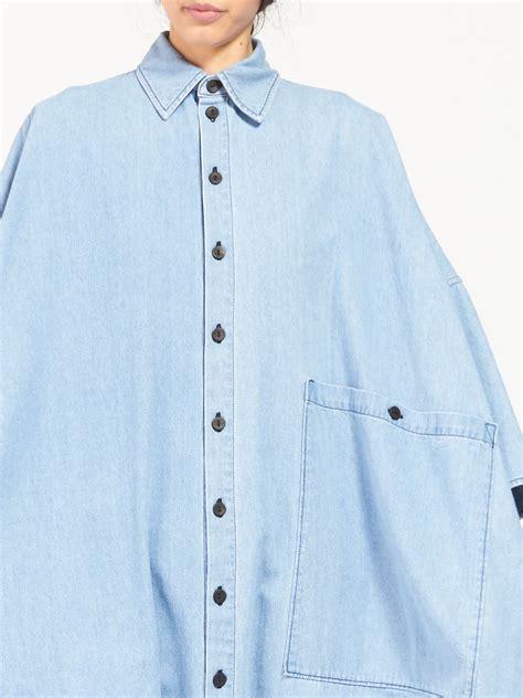 Hq 13857 Denim Jumpsuit 69 big button up jumpsuit denim garmentory