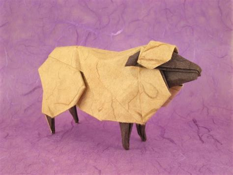 Sheep Origami - origami sheep goats and bovides page 1 of 2 gilad s
