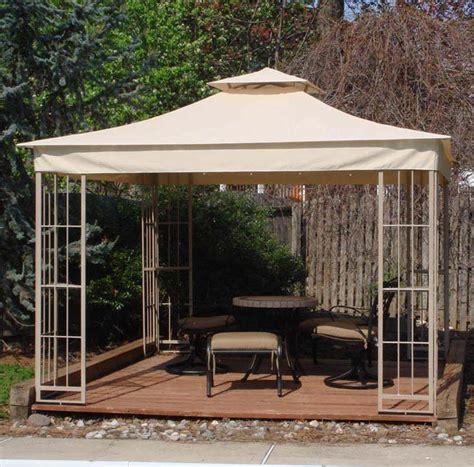 10x10 gazebo canopy gardenline gazebo replacement canopy gazeboss net