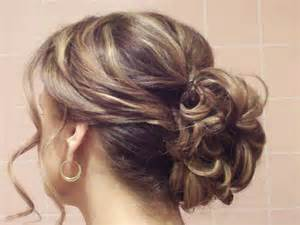 upstyle hair styles easy casual updos for medium hair