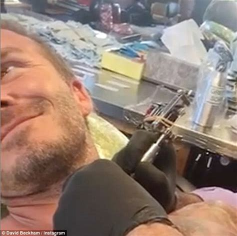 tattoo beckham neck david beckham unveils brand new neck tattoo for harper