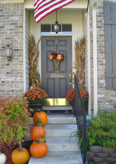 front porch decorating 22 fall front porch ideas veranda home stories a to z