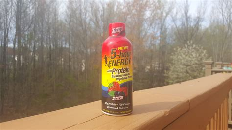 protein 5 hour energy 5 hour energy with protein review supplementclarity