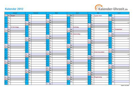 Kalender 201 Mit Feiertagen Kalender 2012 Mit Feiertagen