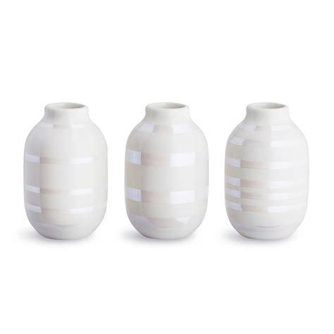 kæhler vase k 196 hler omaggio minivaser perlemor 3 stk hus