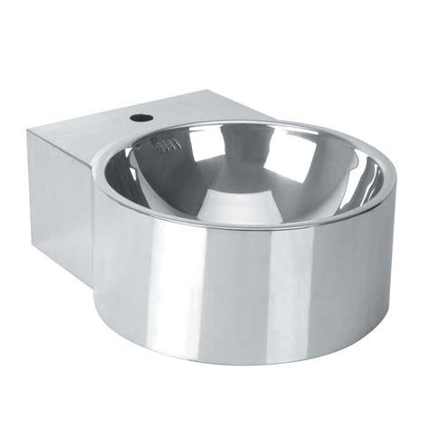 Stainless Bathroom Sinks by Silver Stainless Steel Bathroom Sink Vessel Polished
