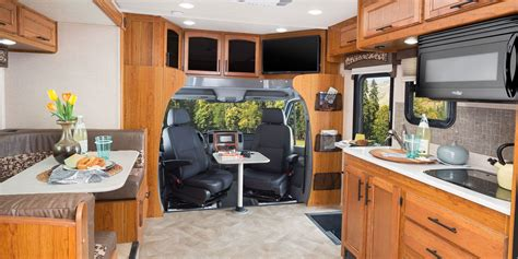 Four Winds Travel Trailer Floor Plans by 2017 Melbourne Class C Motorhomes Jayco Inc