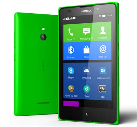 Hp Nokia X X2 Xl nokia xl prix ses caract 233 ristiques et ses photos officielles frandroid