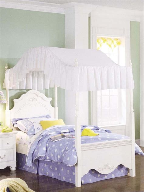 kids canopy bedroom sets bedroom standard furniture diana twin poster canopy bed