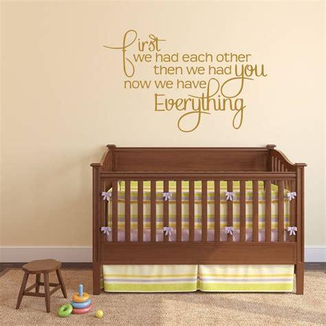 Baby Wall Stickers For Nursery babys nursery wall sticker by mirrorin