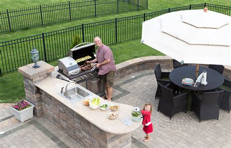 Backyard Grill Installation How To Install A Built In Barbecue Grill Pioneer