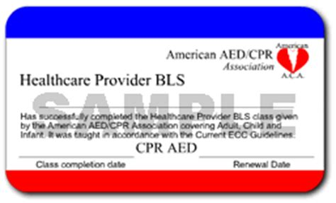 Aha Healthcare Provider Cpr Card Writable Template by Free Cpr