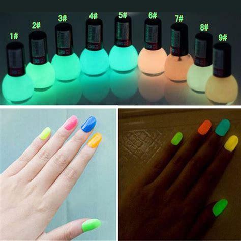 nail polish colors for professional women 2pcs popular 12 candy colors glow the dark luminous neon