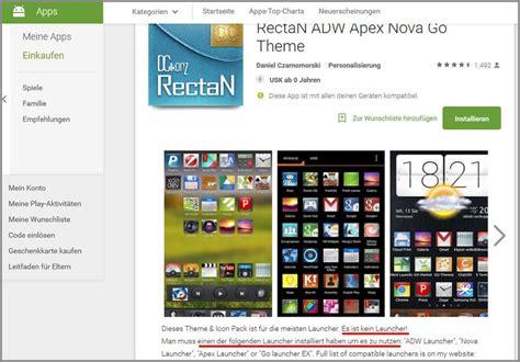 Nova Launcher Themes Installieren | app designs 228 ndern alles 252 ber android