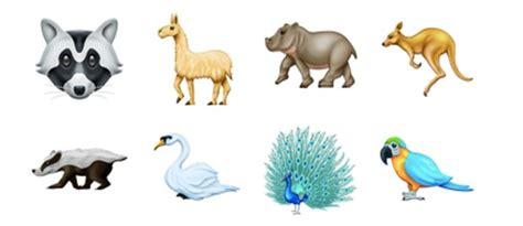 nouveaux emojis de  la liste des nouveautes confirmees