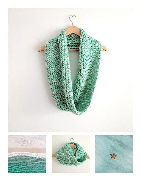 knit loom loom knit infinity scarf pattern free loom knitting by
