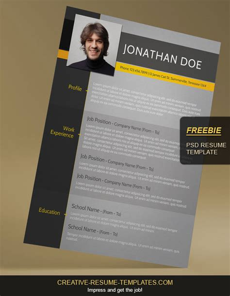 Modern Cv Templates Free by 15 Beautiful Resume Designs For Your Inspiration