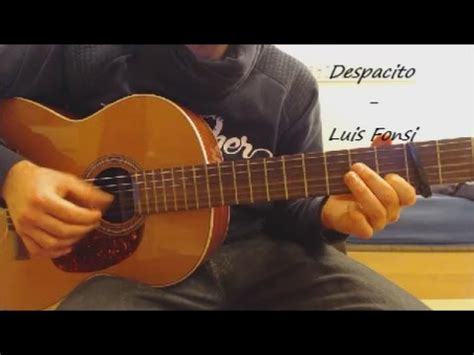 despacito guitar tutorial guitar tutorial quot despacito quot luis fonsi youtube