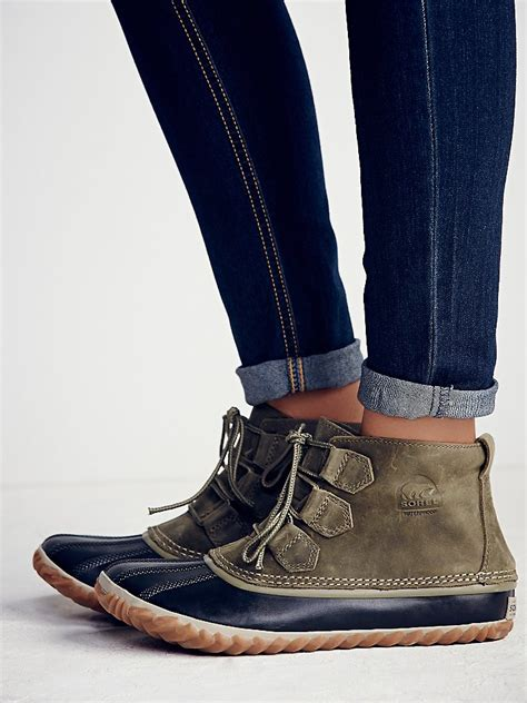 sorel out and about boot free sorel womens out n about weather boot in gray