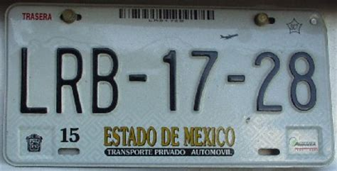 placas del estado de mexico placas de que estado
