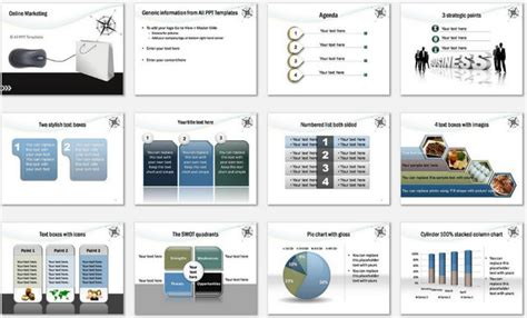 marketing powerpoint templates free powerpoint marketing template