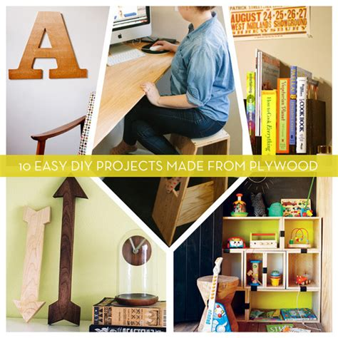 plywood projects diy roundup 10 easy diy projects made from plywood curbly