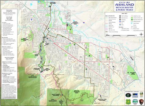 where is ashland oregon on a map ashland watershed