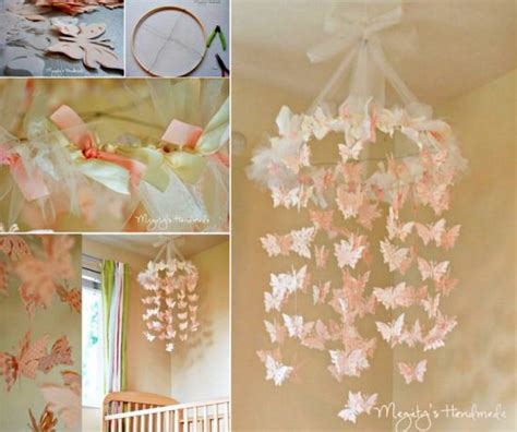 How To Make A Paper Butterfly Mobile - paper butterfly mobile tutorial is so easy the whoot