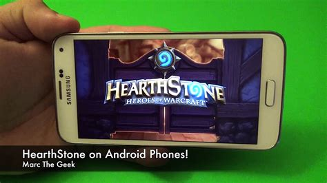 hearthstone for android hearthstone for android phones read update