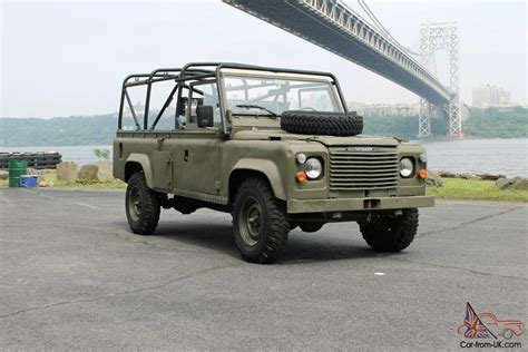 military land rover land rover x mod defender 110 military vehicle