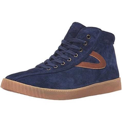 shoes sneakers tretorn 0023 mens nylite hi7 suede hi top casual fashion