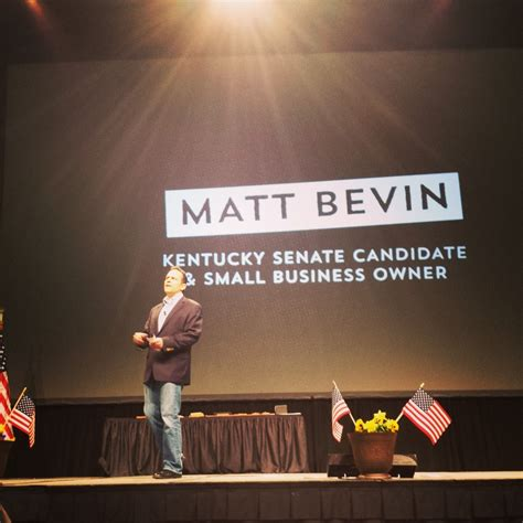 Matt Bevin Also Search For National Supporter Has Doubts Matt Bevin Can Overcome