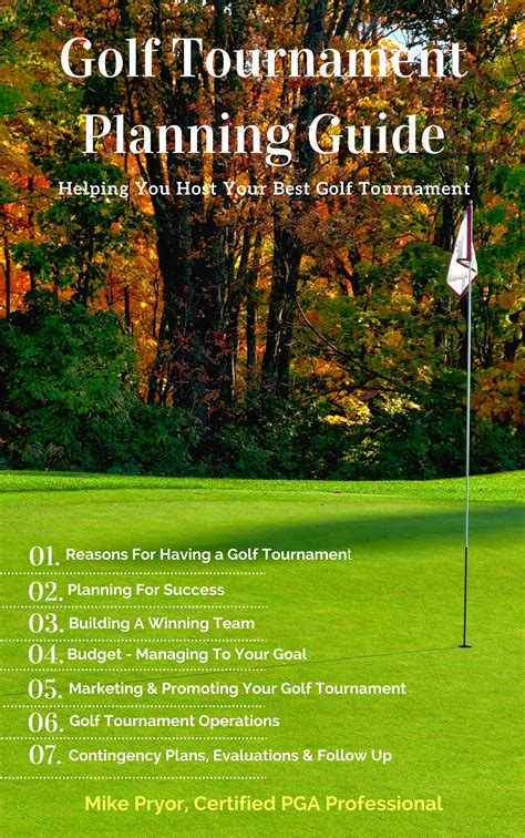 Golf Tournament Planning Center Helping You To Host A Great Golf Tournament Golf Tournament Planning Template