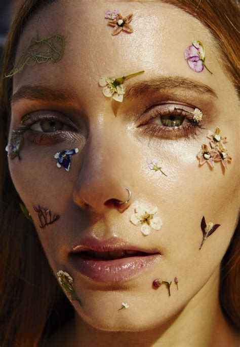 Flower Based Cosmetic Preparations by Best 25 Makeup Editorial Ideas On Graphic
