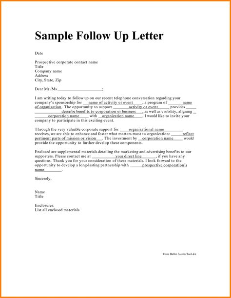 up letter to resume follow up letter sle resume exles 2017