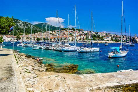 haus yacht hintergrundbilder kroatien island hvar insel jacht segeln