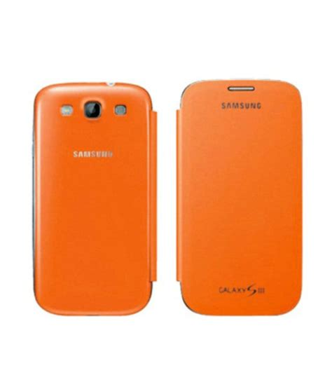 Samsung Galaxy S3 Zoom casem samsung galaxy s3 siii i9300 flip orange cases cover flip covers at low prices