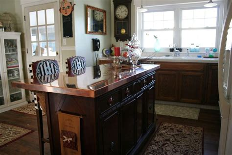 Kitchen Remodel; Convert a dresser into a kitchen island!