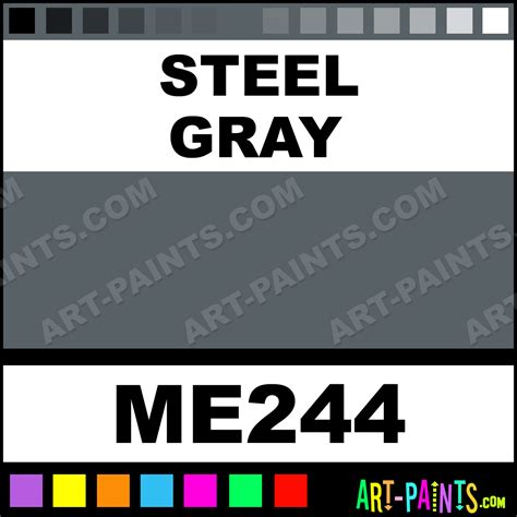 steel gray metallic metal paints and metallic paints me244 steel gray paint steel gray